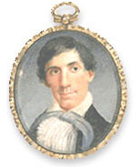 Image of the Lincoln Miniature Painting